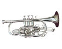 Sonata  nickel plated cornet