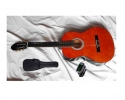 * Childrens size guitar PACK  View CAPETOWN Sonata 3/4 1/2 and 1/4 sizes  classic nylon string guitar WITH BAG and TUNER