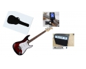 * Sonata Strat Redburst guitar pack (with tuner amplifier and bag) view CAPETOWN