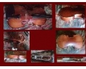 * View CAPETOWN BESTSELLER Sonata Jinyin violin outfit - antique stain - 1/2 size (ages 6-10) with our setup + shoulder rest