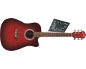 * NEW washburn Oscar schmidt OG45CE Acoustic Electric Redburst with our FREE BAG AVAILABLE