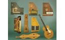 Harps Autoharps Zithers and Dulcimers