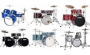 Rock Jazz and Fussion 5 to 7 piece Drumsets