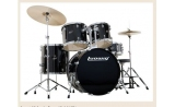 * Ludwig  Accent PLUS  with hardware stands, pedal, throne  and cymbals - complete. BLACK RED BLUE AVAILABLE