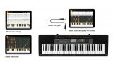 Casio CTK2500 keyboard - learn with smart apps