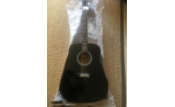 Maxwell steel string  Dreadnought  Guitar SA-W41Blk BLACK  UP*