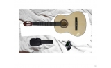 * Ages  12- Adult  Maxwell 4/4 size guitar PACK  View CAPETOWN   classic nylon string guitar WITH BAG and TUNER