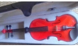Courante violin outfit- RED SPARKLE LAQUER 1/4 size :AGES 4-7  including setup + 4 fine tuners UP*