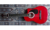 nylon classic supreme guitar Red laquer 38 inches *UP