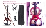 Courante Electric frame violin (4/4) with headphones   tuner *View CAPETOWN