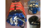 Courante Blue pearloid 20 key Anglo Concertina in bag *View CAPETOWN