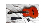 34  full size sonata guitar PACK  classic nylon string guitar WITH BAG and TUNER ages 8-12
