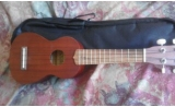 * * View CAPETOWN  12 fret Spruce Walnut Medium grade spruce soprano ukulele with BAG
