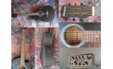 * View CAPETOWN Wedgewood mini jumbo cutaway Electric acoustic guitar
