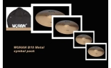 * NEW Wuhan B10 metal  4-Piece Cast Cymbal Pack