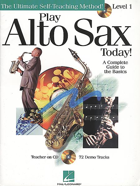 ALTO SAXOPHONE PACK: Pay alto sax today:  BOOK + CD Method LEVEL 1