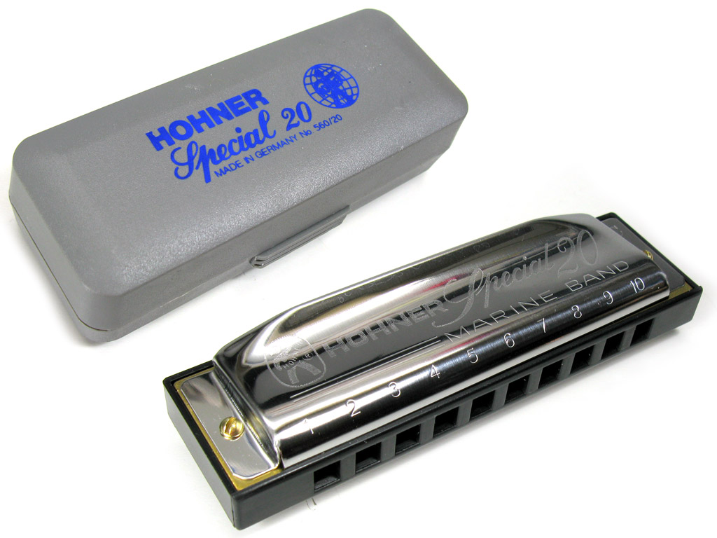 * hohner country tuning special 20 in C.
