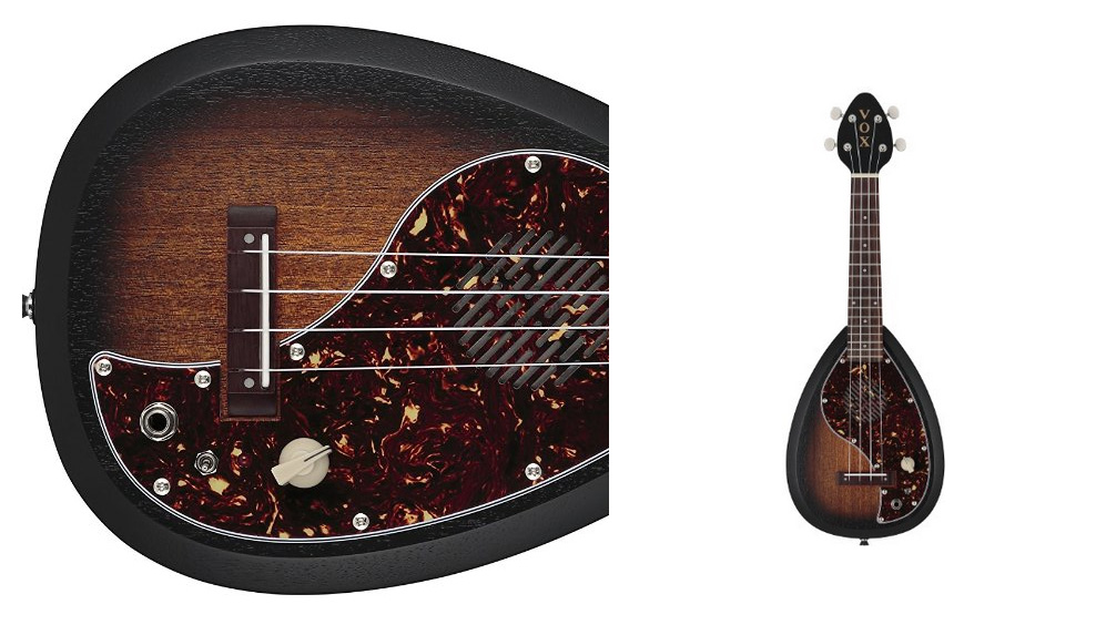 * Vox Acoustic Electric Concert size Ukulele with built in amp and speaker +(SOFTCASE FREE valued R599)