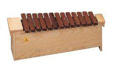 Xylophone Orff style alto 13 note rosewood diatonic
