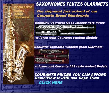 Courante saxophones flutes clarinets