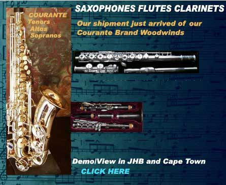 courante saxophones and musical instrument specials