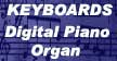 Keyboards digital pianos organ
