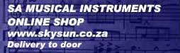 www.skysun.co.za SA Muscial Instruments logo
