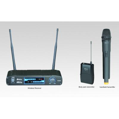 * View CAPETOWN DTECH UHF-11B HH  pro quality ultra high frequency  wireless handheld microphone ( Encoded interference free )