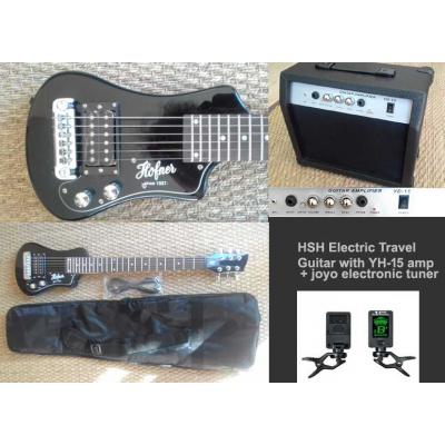 HSH Electric Travel Guitar with YD15 15 watt guitar amplifier+ tuner *view CAPETOWN