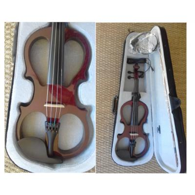 Courante Electric frame violin (4/4) with headphones - complete outfit *View CAPETOWN