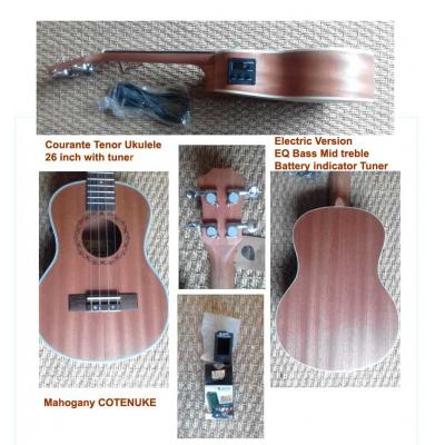 * * Csound Electric Tenor 26 inch ukulele View CAPETOWN