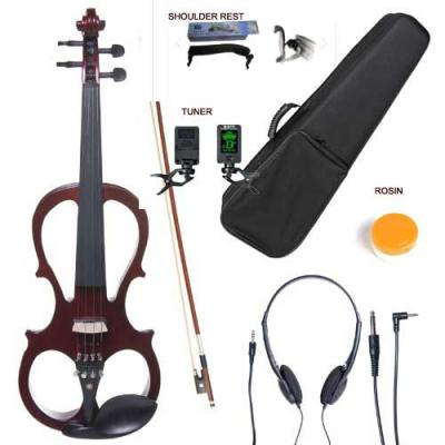 Courante Electric frame violin (4/4) with headphones shoulder rest + tuner *View CAPETOWN