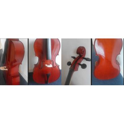 Student: Flame Lily  Cello 1/2 size.