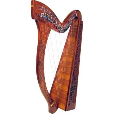 Glenluce 29 Str Harp, 24 levers, Musical Instruments for