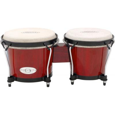 *  View CAPETOWN Toca synergy red  wooden bongos
